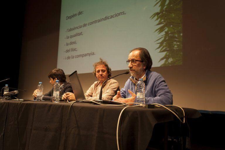 Primera conferencia sobre el uso terapéutico del cannabis en Figueres
