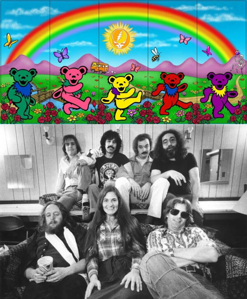 Miembros del grupo The Grateful Dead