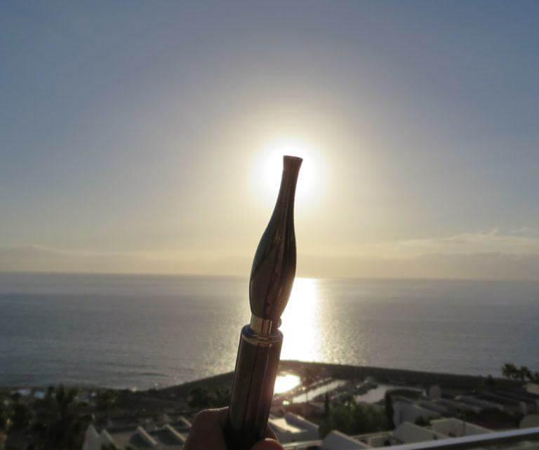El vaporizador de aceite de cannabis puede fácilmente llevarse durante las vacaciones.