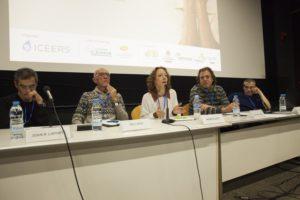 Pep Lopez, Marta Sanz y Jose Carlos Bouso