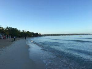 Un amanecer en la playa