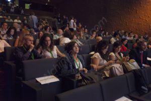 El público asistente a las jornadas de cannabis medicinal