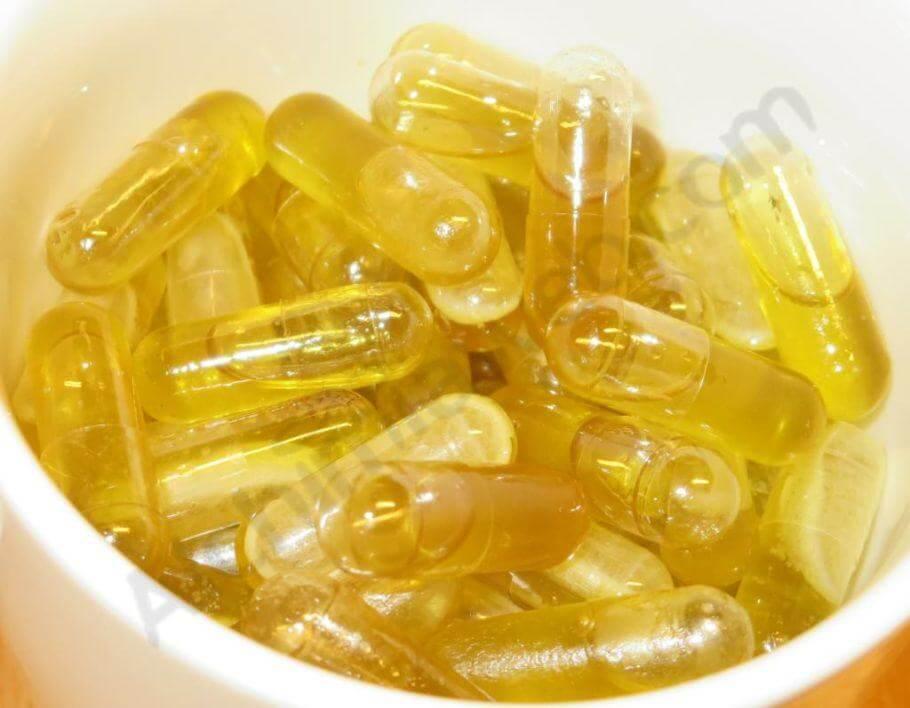 Cápsulas de aceite de cannabis