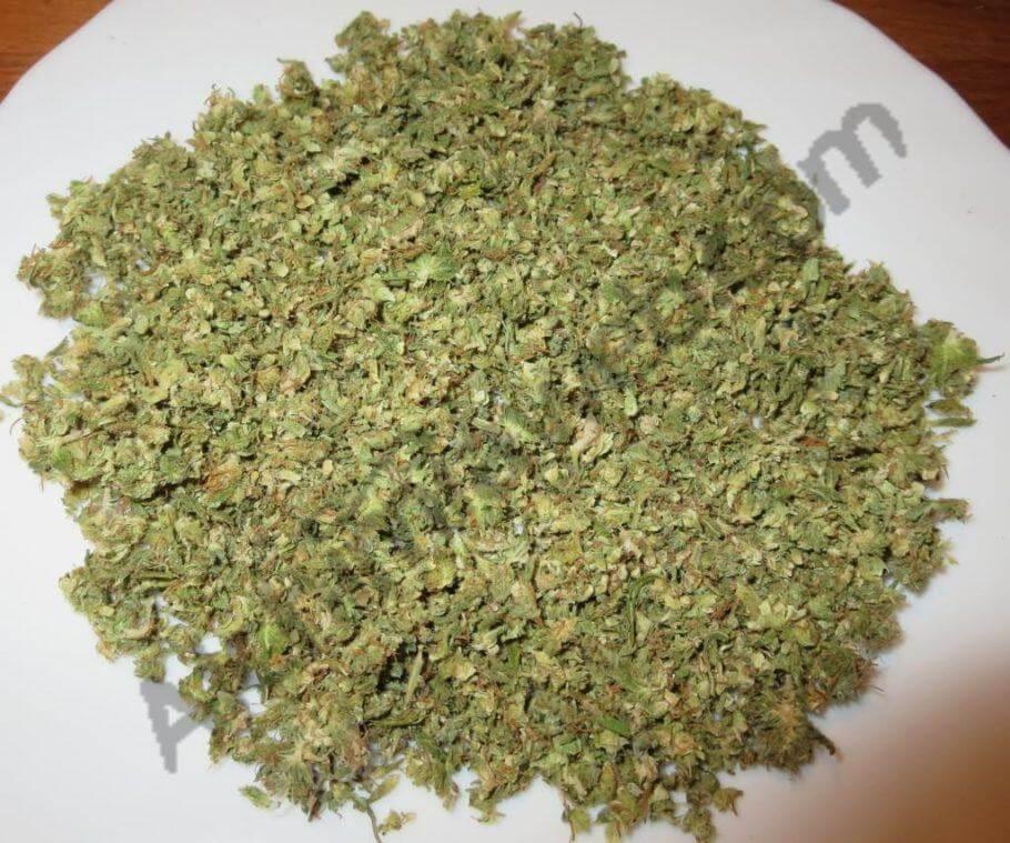 El cannabis utilizado para hacer las cápsulas