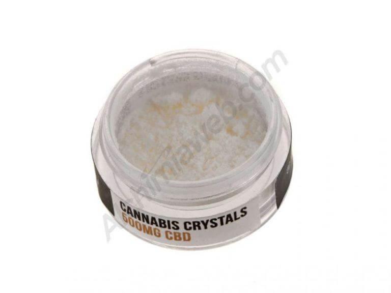 Cristales de CBD aislados con una pureza del 99%
