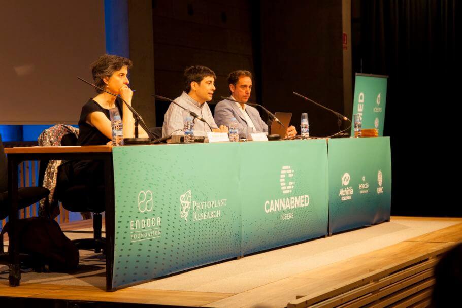 Presentación 2ª jornada Cannabmed con Oscar Parés y Queralt Prat
