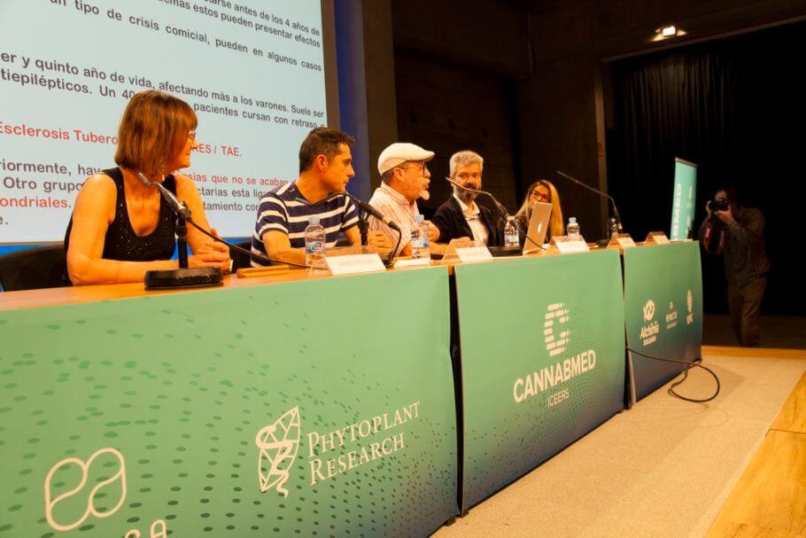 Intervención del Dr. Mariano García de Palau en Cannabmed 2018