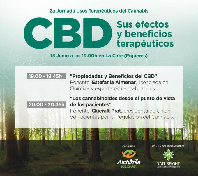 2ª Jornada Usos Terapéuticos del Cannabis - Figueres