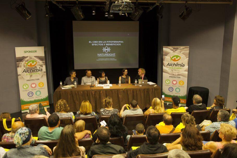 Presentación de la 2ª jornada de Usos Terapéuticos del Cannabis en Figueres