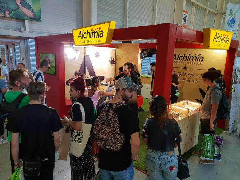 Our Alchimia stand at Expogrow 2018