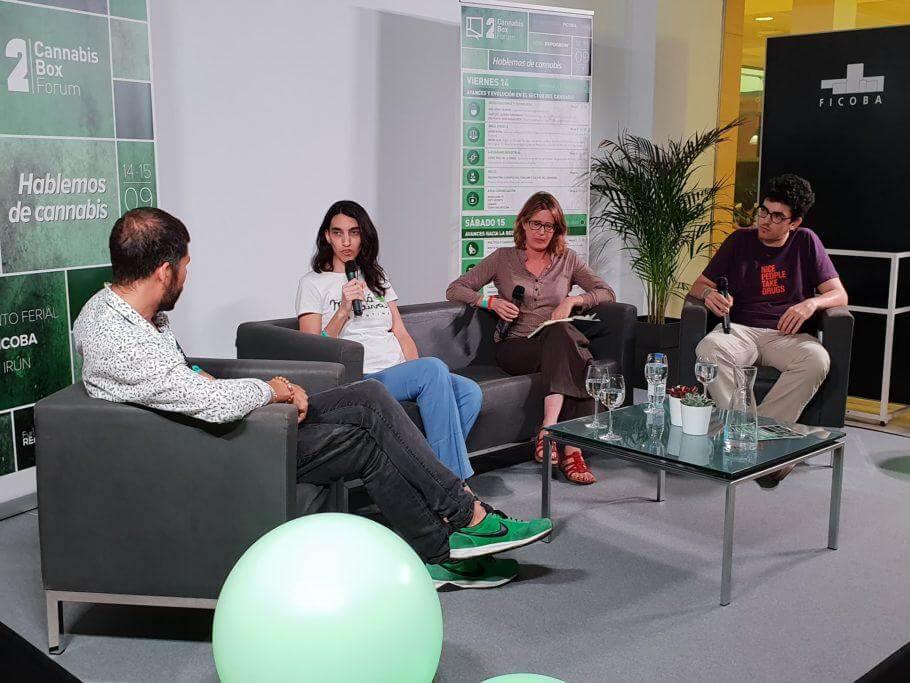 Exito del Cannabis Box Forum en la Expogrow 2018