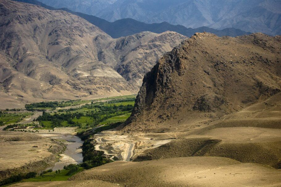 Cannabis is grown in many valleys in Afghanistan