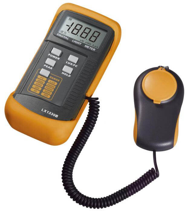 LX13330B digital light meter
