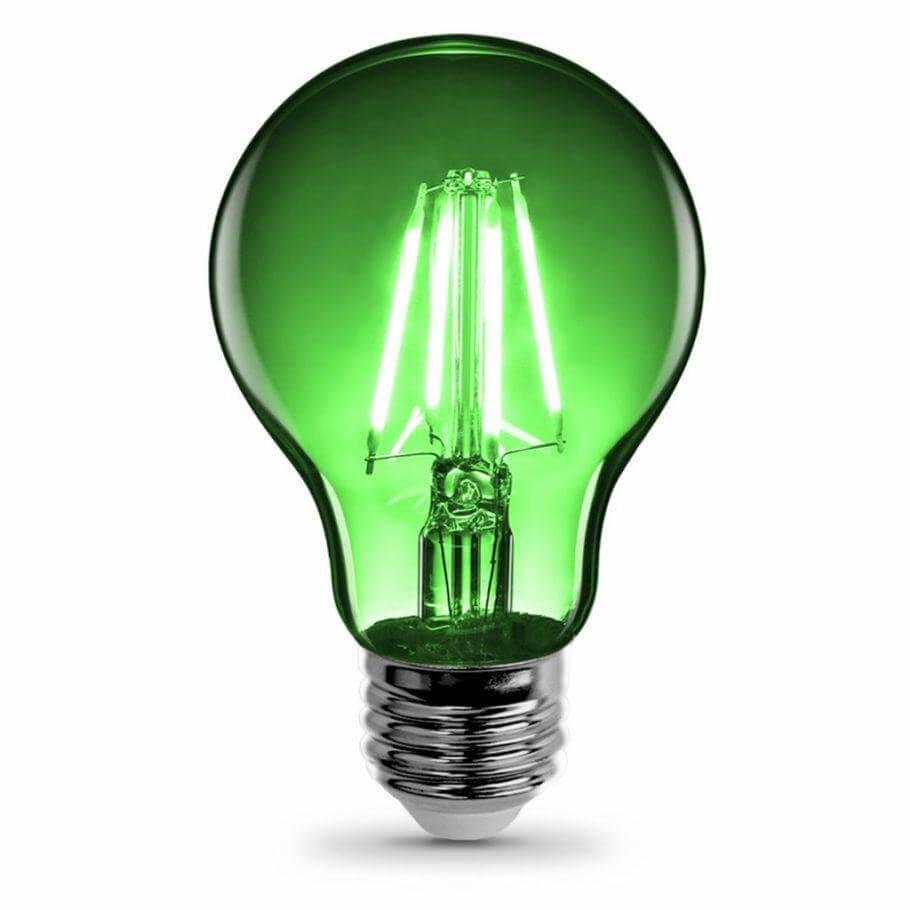 La luz verde permite trabajar durante la noche sin estresar a las plantas