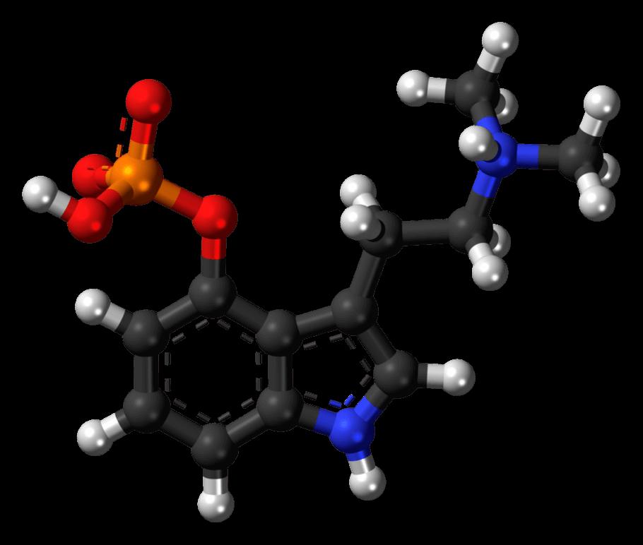 Molécula de psilocibina