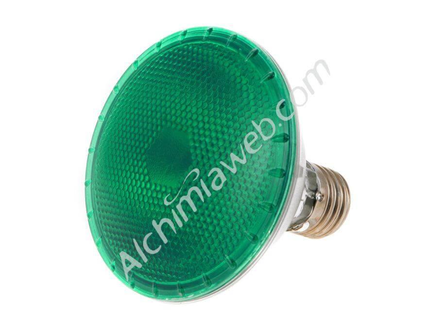 Agrolite Dark Night, una bombilla de luz verde de 100W