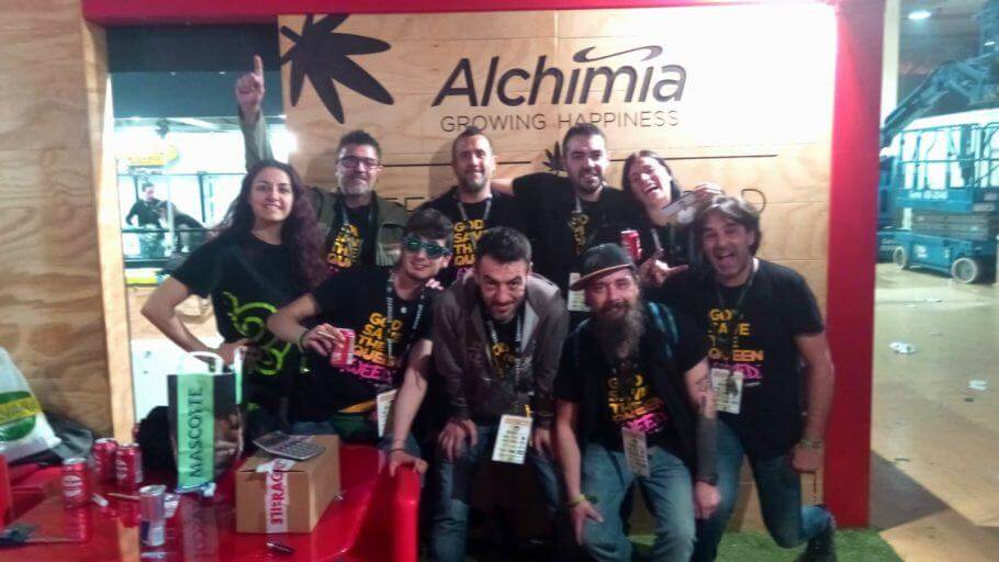 Alchimia & Philosopher Seeds at Spannabis 2019