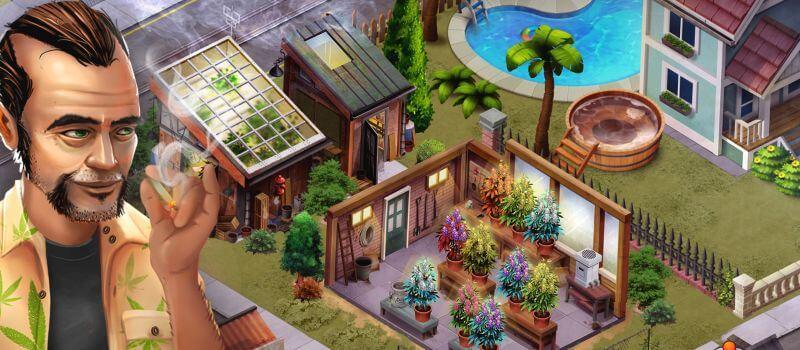 Hempire de LBC Studios Inc. es uno de los mejores juegos de cultivo de marihuana