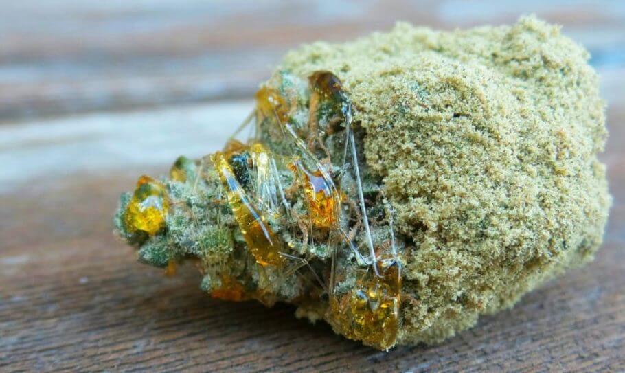 Las Moon Rocks llegan fácilmente al 50% de THC