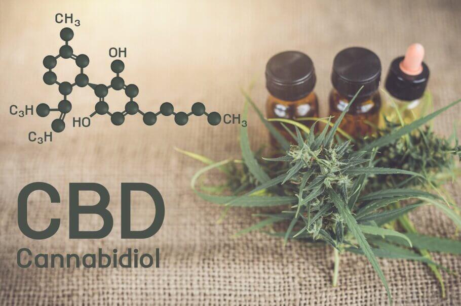 El CBD, junto con el THC, son los cannabinoides con mayor concentración en el cannabis.