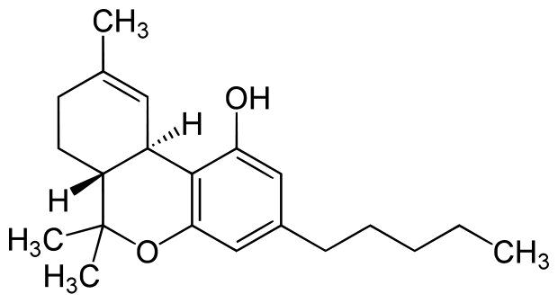 Delta 9 tetrahidrocannabinol