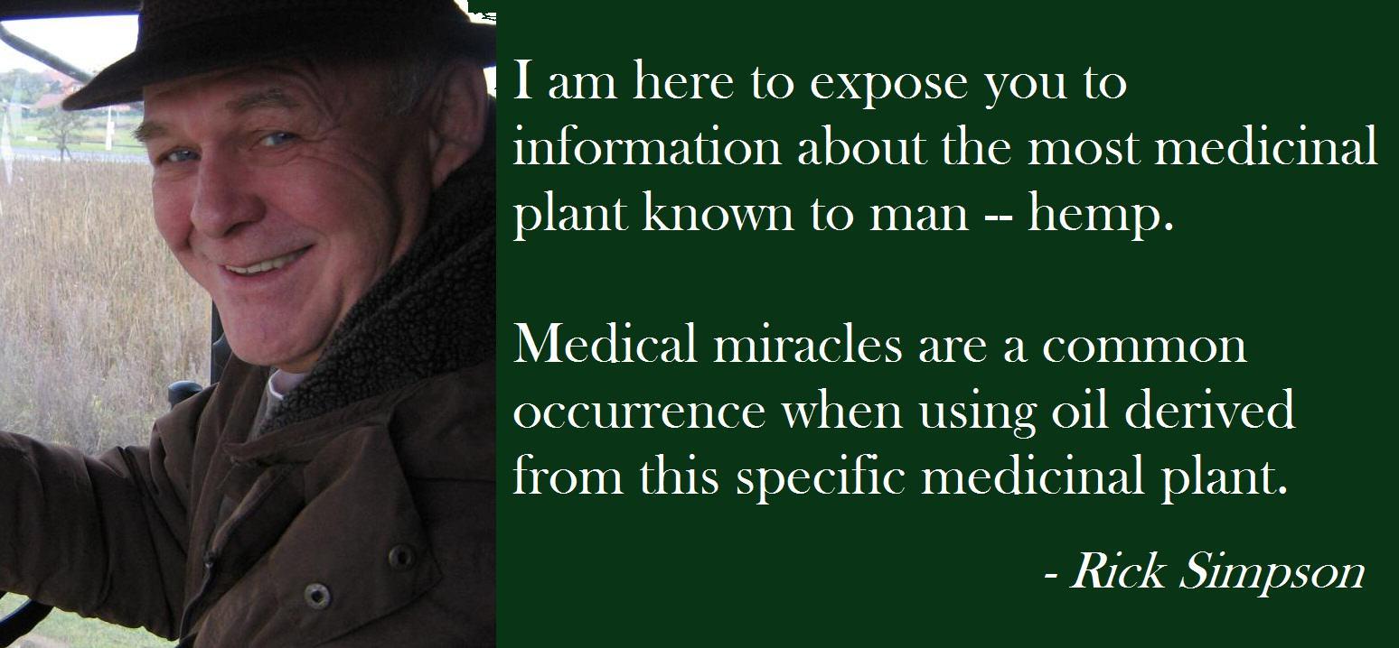 Simpson afirma haver vençut el seu càncer de pell gràcies al seu oli de marihuana