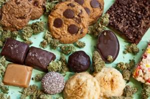 Pastissets i galetes a base de marihuana