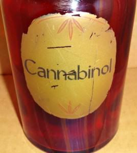 Ampolla amb Cannabinol (1880)