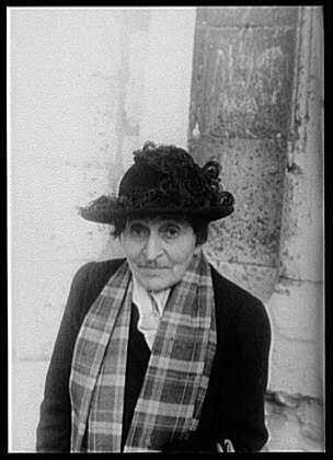 Carl Van Vechten, 1949 - Alice B. Toklas