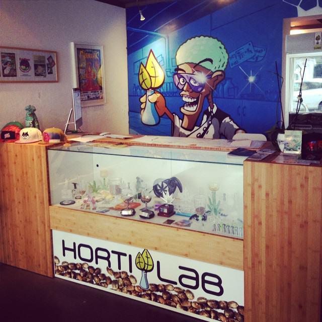 Botiga HortiLab a Amsterdam
