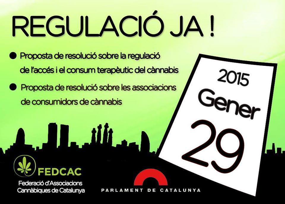 Regulació dels Cànnabis Social Clubs a Catalunya