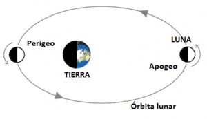Gràfic Apogeu i Perigeo lunar