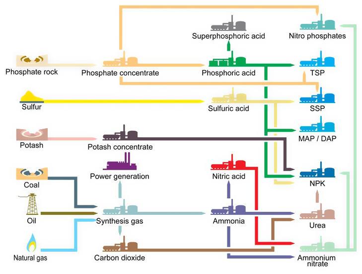 Fabricació dels nutrients minerals