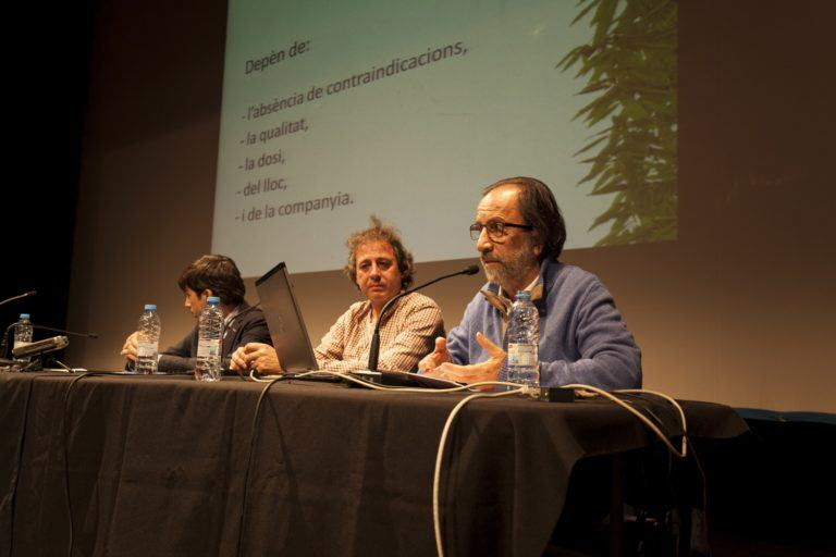 Els conferenciants han respost després a les qüestions del públic
