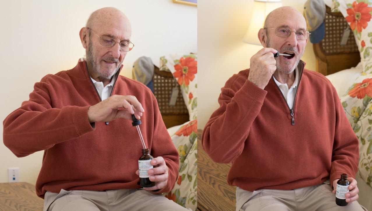 La marihuana medicinal pot també ser consumida en forma d'oli (foto: drugpolicy.org)