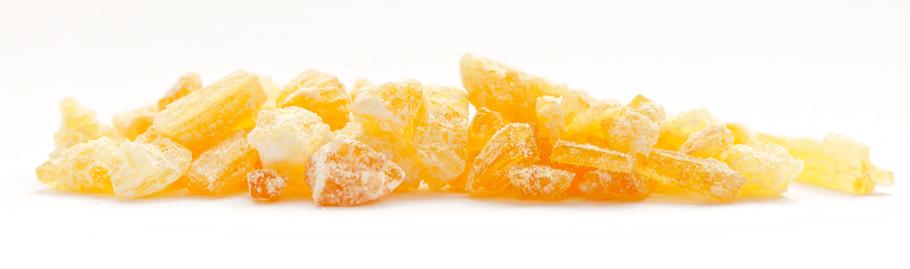 Cristalls compostos amb un 98% de CBD (font: Endoca)