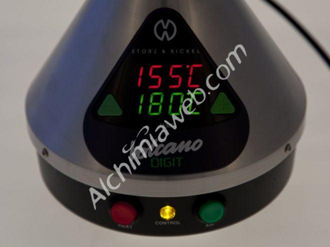Temperatures per vaporitzar el cànnabis
