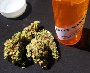 Marihuana medicinal a la venta en un dispensari dels EUA (Foto: Flickr)