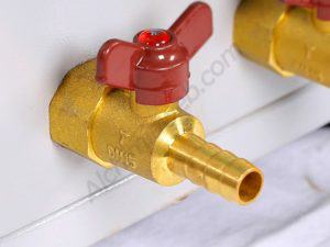 Detall d'una de les vàlvules