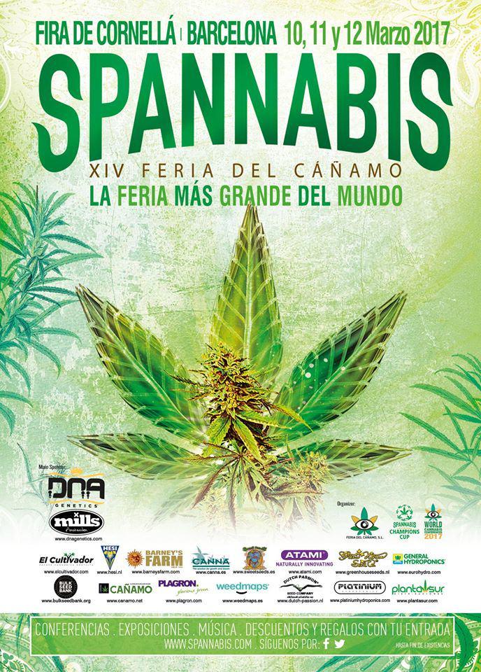 Programació de la Spannabis Barcelona 2017