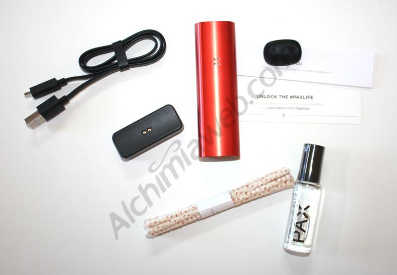 Vaporitzador PAX 2 amb els accessoris