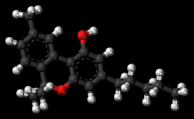 Molècula de CBN (cannabinol)