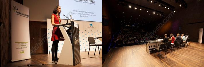 Politicas Contra el Dolor, Carola Pérez, presidenta del OECM