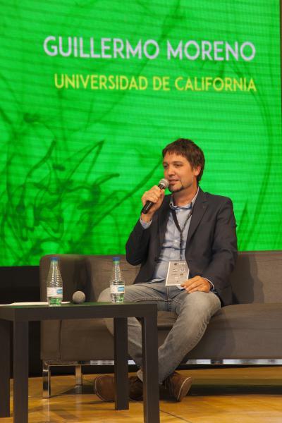 Guillermo Moreno en la fira Expogrow Irun 2017