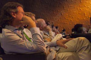 Públic assistent a la jornada Polítiques contra el Dolor