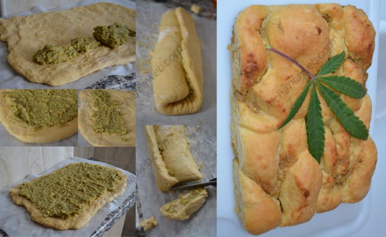 Brioux de Dawamesk amb puré de pistatxos i ametlles