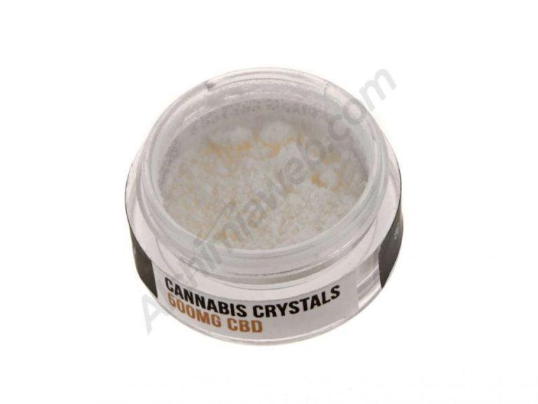 Cristalls de CBD aïllats amb una puresa del 99%