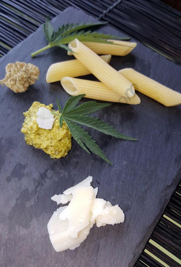 El pesto de cannabis és deliciós i fresc