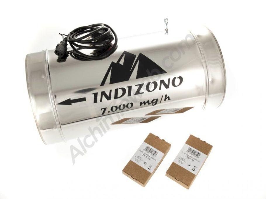 Ozonitzador Indizono 250mm (7000 mg/h)
