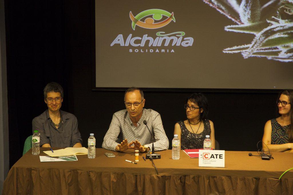 Unió de Pacients per la Regulació del Cànnabis a la Conferència
